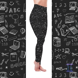 The Chalkboard Leggings